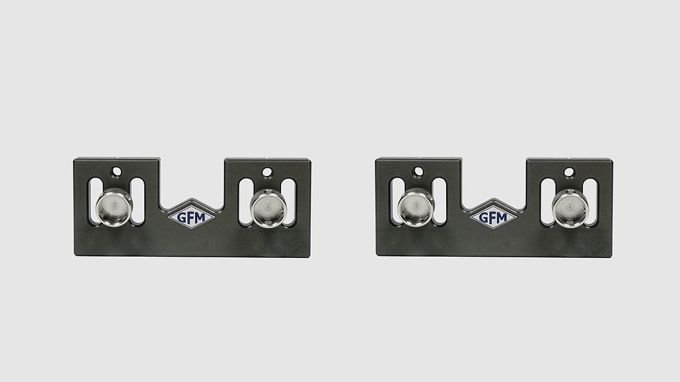 "AL-2587 — Pair of side plates for GF-Slider (small), 5 cm / 2"" (2 pcs.)"