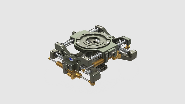 GF-1080S - GF-Vibration Isolator Set inkl. Transportkoffer