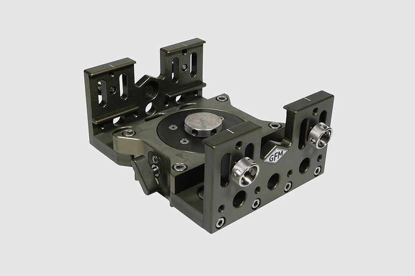 AL-2580 — Euro adapter mount with pan bearing and medium side plates