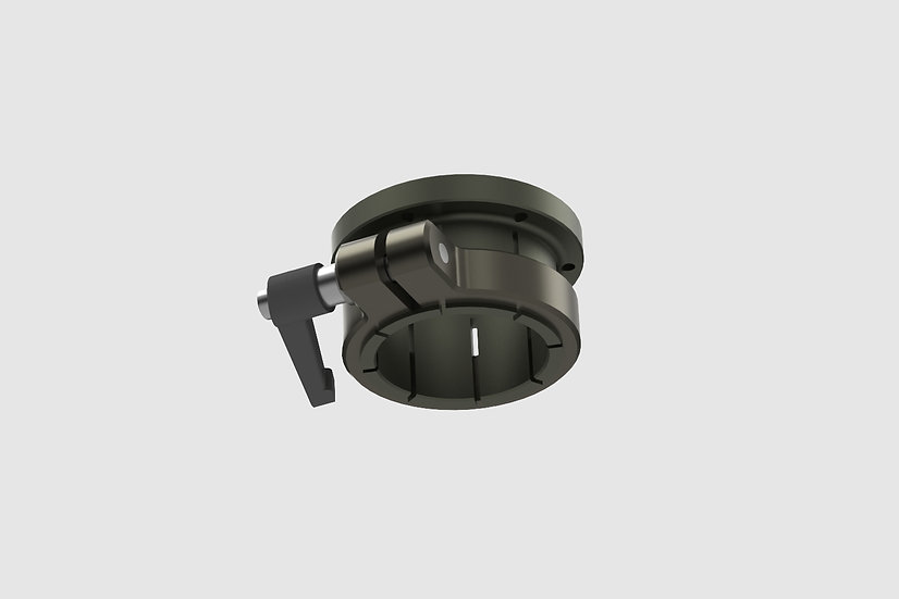 GF-1073 — Euro base mount for GF-Vibration Isolator