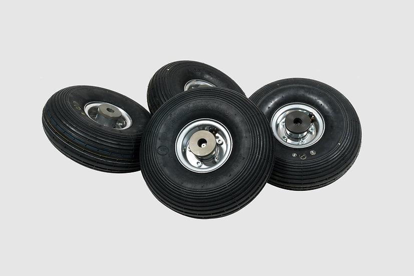 GF-7011 — Set of pneumatic Big Wheels (4 pcs.)