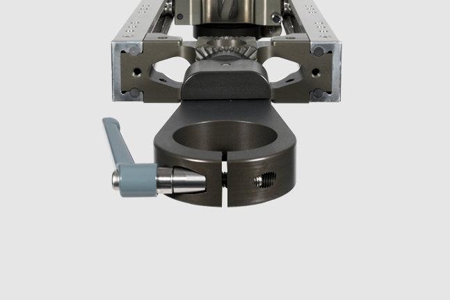 AL-2402 — GF-Slider Nose Mount (Euro clamp)