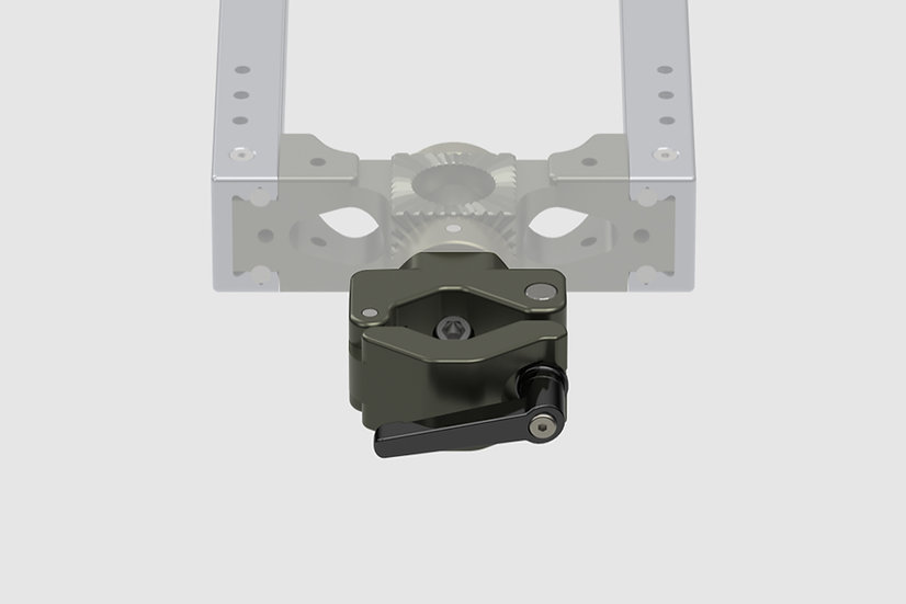 AL-2408 — Single scaffold adapter for GF-Slider (42 - 51mm)