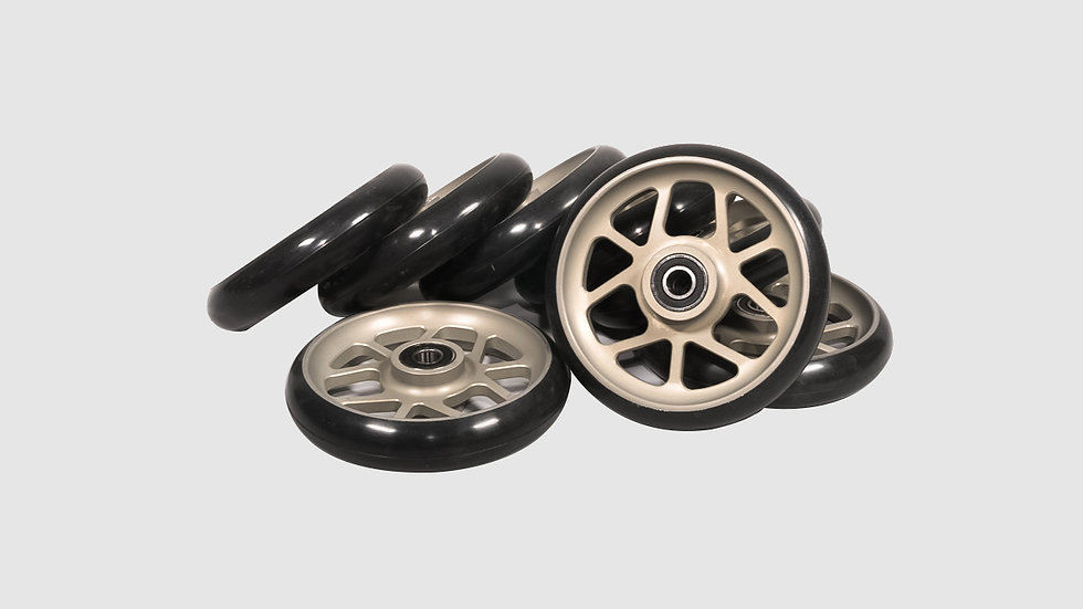 GF-7009 - Set of hard studio wheels (8 pcs.)