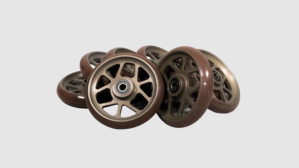 GF-7009/1 - Set of soft studio wheels (8 pcs.)