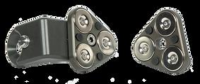 Magnetic end stops for GF-Slider