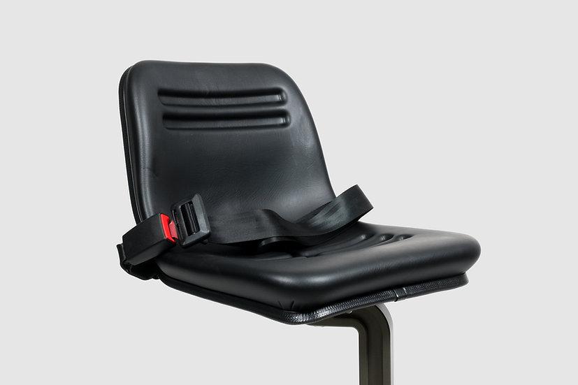 AL-1030 — Crane seat with seat belt