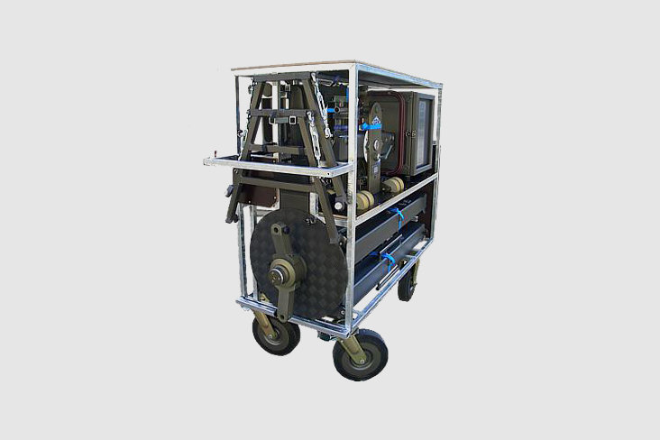 GF-8110 — Transport trolley for GF-8 Crane