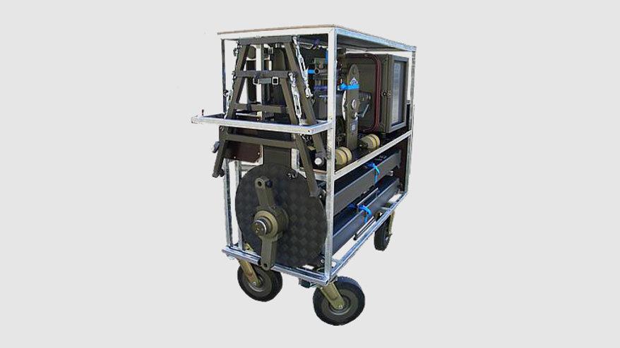 GF-8110 — Transport trolley for GF-8 Crane