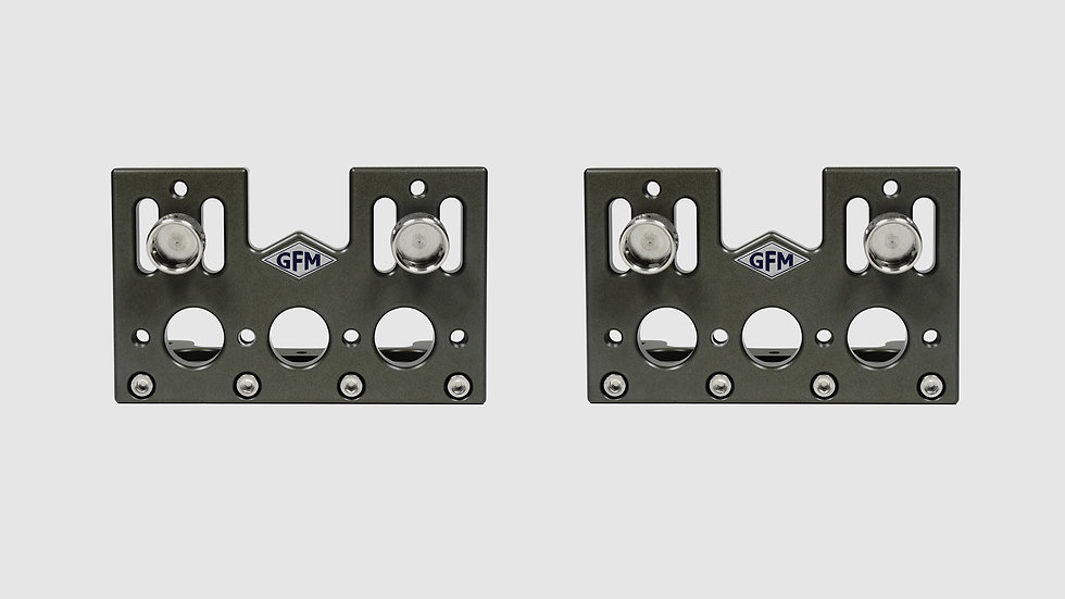 "AL-2585 — Pair of side plates for GF-Slider (large), 10 cm / 4"" (2 pcs.)"