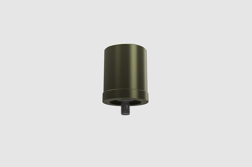 """AL-2363/3 — Speedrail starter (42.4mm OD / 1 1-4"""" ID) on 3/8""""-16 thread"""