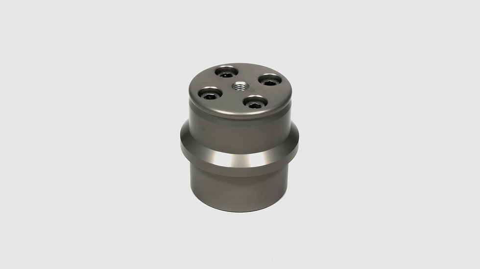 """CTV-19 — Euro-adapter  with 2"""" hole pattern for M10 or 3/8"""" bolts"""