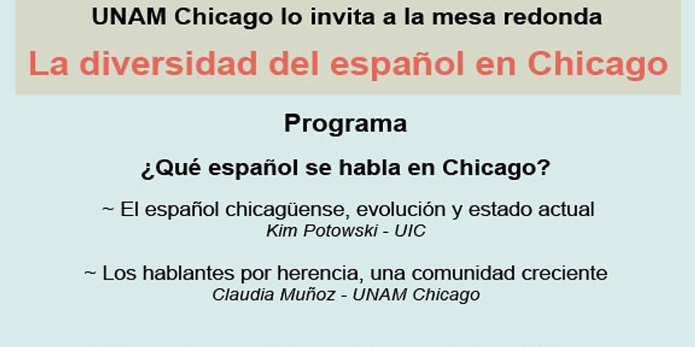 Mesa redonda: La diversidad del español en Chicago