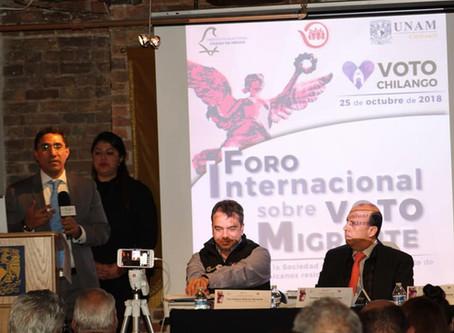 UNAM Chicago es sede y organizadora del primer diálogo binacional sobre el voto