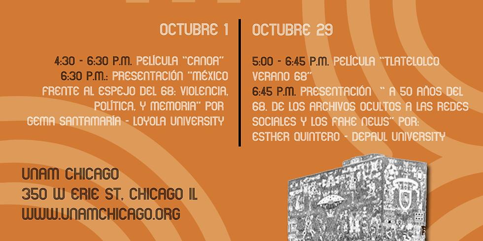 México a 50 años del movimiento del 68