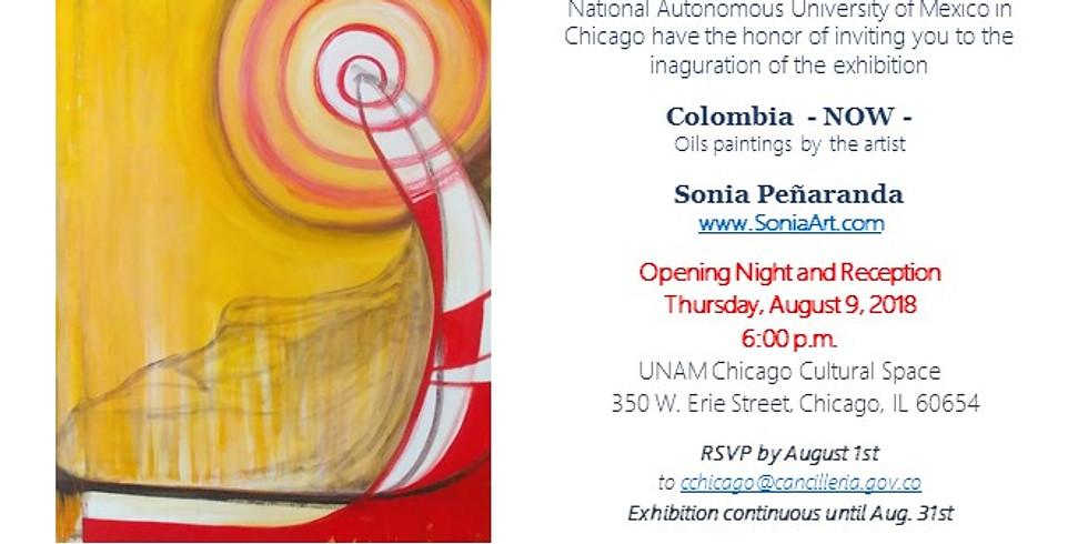 Sonia Peñaranda Exhibit Opening