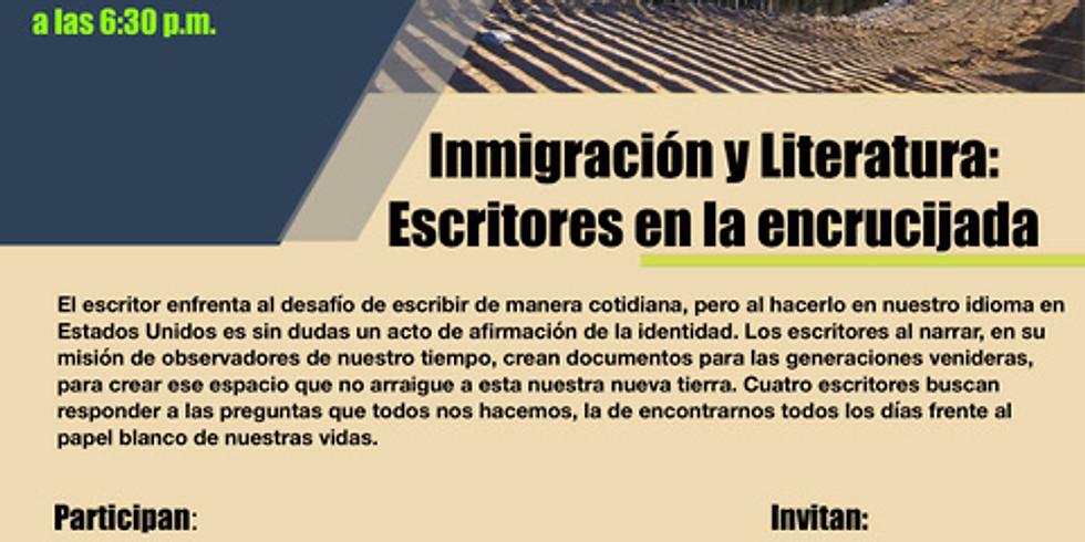 """Panel """"Inmigración y Literatura"""""""