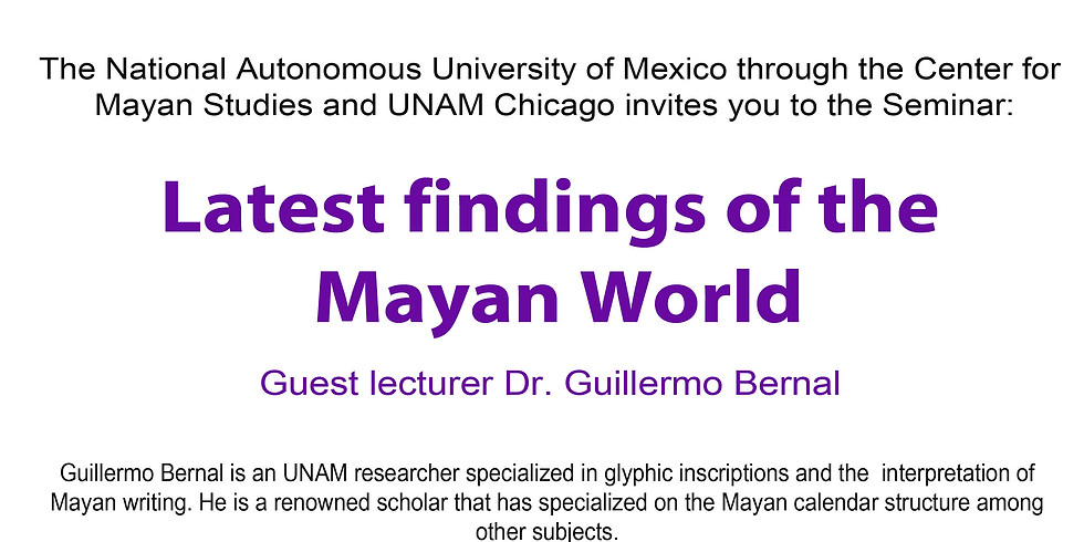 Latest findings of the  Mayan World