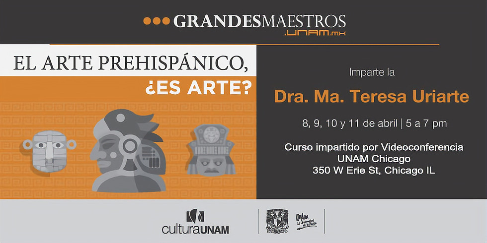 Videoconferencias: El arte prehispanico, Es arte?