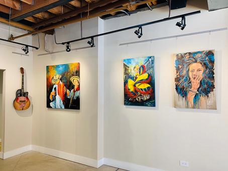 """La artista colombiana Katherine del Real inaugura su exposición """"De adentro hacia afuera"""" en Chicago"""