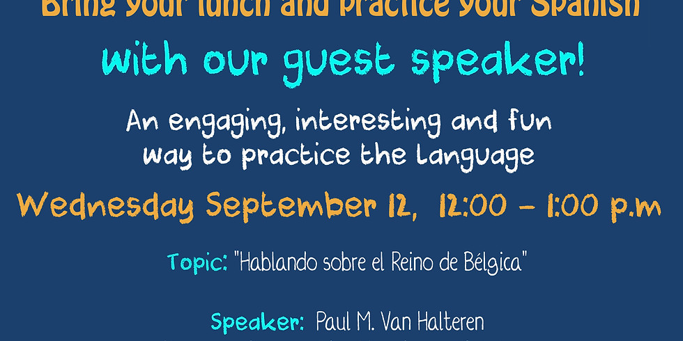 Let's Talk in Spanish about Belgium