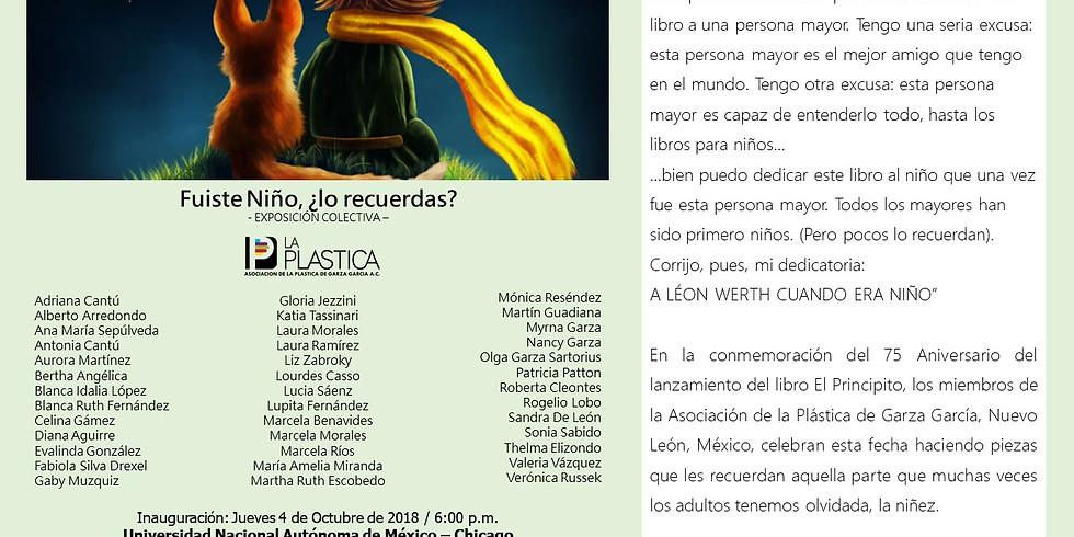 Exhibición de pintura colectiva del Estado de Nuevo León, México