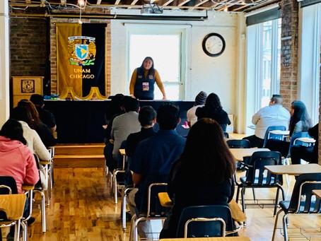 Presentan el examen de selección para ingreso a la UNAM en la Ciudad de Chicago