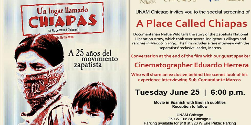 A place called Chiapas film presentation