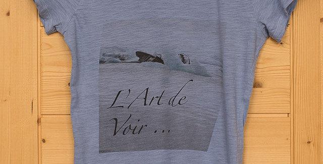 Tee-shirt VOIR femme