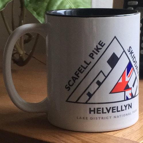 Lake District Trigs Big 3 Mugs