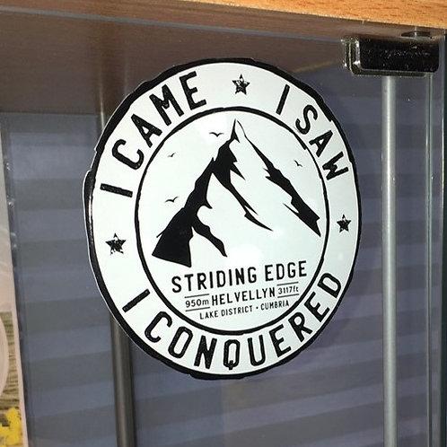 Lake District Landmarks Window Stickers