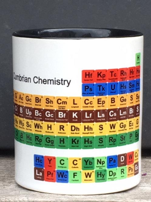 Cumbrian Chemistry Table Mug