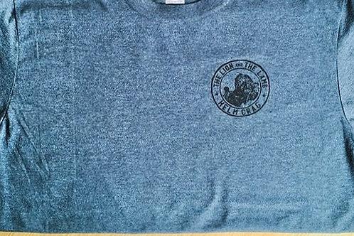 Lake District Landmarks Grey Marl T-shirts