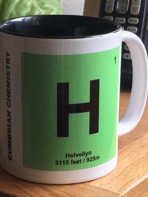 Cumbrian Chemistry Tile Mug