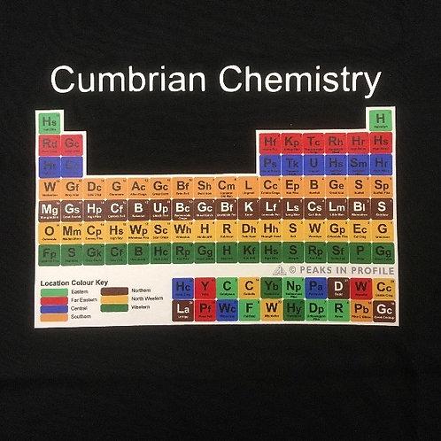 Cumbrian Chemistry T-shirts