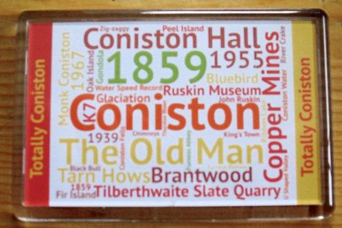 Lake District Wordie Magnets