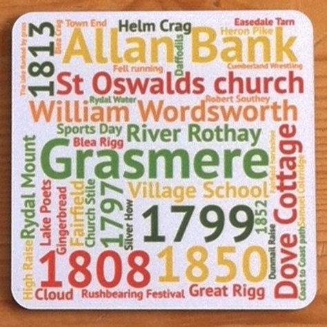 Lake District Wordie Coasters