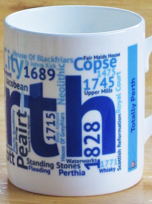 Scotland Wordie Mugs