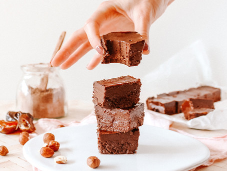 Homemade Hazelnut Fudge