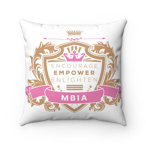 MBIA Spun Polyester Square Pillow
