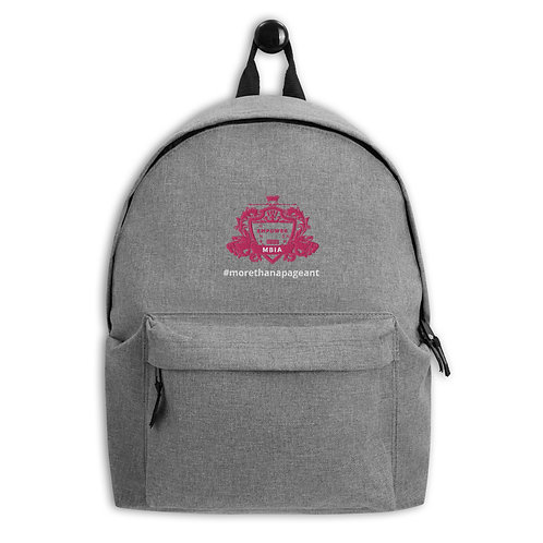 MBIA Embroidered Backpack