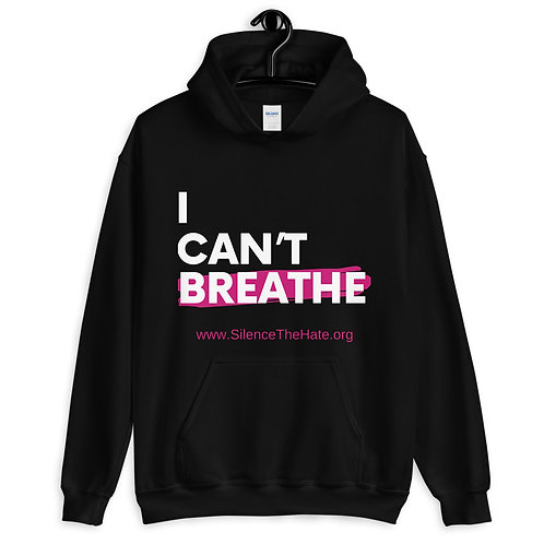 'I Can't Breathe' Unisex Hoodie (Black)