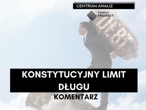KOMENTARZ: Konstytucyjny limit długu