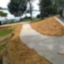 concrete contractor's sidewalk in chattanooga tn