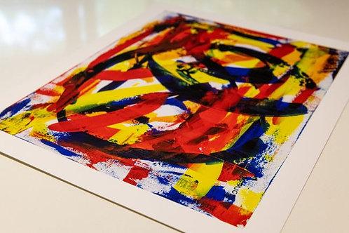 """Flamenco on Fire"" Print"