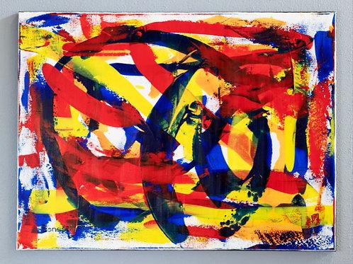 """Flamenco On Fire"" Original Painting"