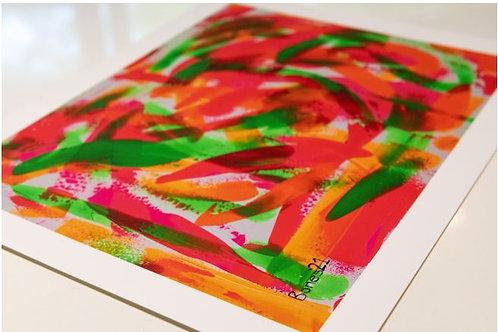 """""""Samba at Sunrise"""" Print"""