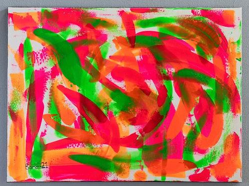 """Samba at Sunrise"" Original Painting"