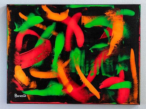 """""""Marimba Rhythms"""" Original Painting"""