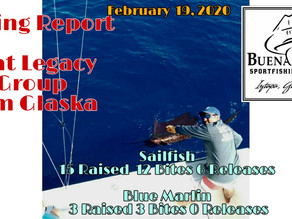 Fishing Report February 19, 2020